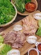 野菜たっぷり*しっとり柔らか茹で鶏のポッサム*