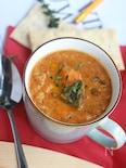 食べるかぼちゃのダルスープ。