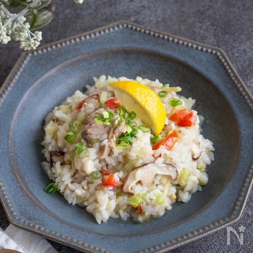 米からでも手間なし簡単本格!生姜香る鶏のエスニック風リゾット
