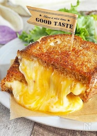 『チーズの滝!『とろけるチーズサンド』』