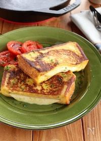 『ハムとチーズのフレンチトースト』