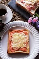 冷凍保存OK!とろーり♪チーズと明太子の作り置きトースト