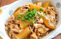 【豚バラ大根のとろみ煮】とろ〜り食べやすいほっこり煮.*˚