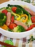 手間いらず♪お鍋ひとつで作る『スープサラダ・パスタ』