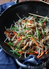 『中華屋さんの肉野菜炒め。』