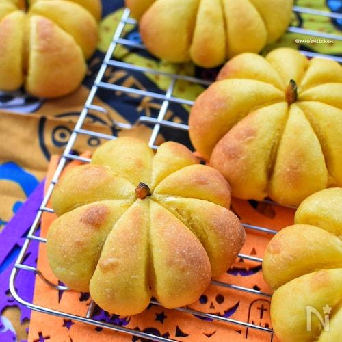 ヤバ旨♡ベーコンチーズのかぼちゃパン♡