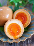 『ラーメン屋さんのとろ〜り半熟煮卵』【#作り置き #お弁当】
