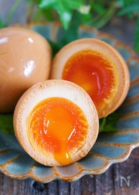 『『ラーメン屋さんのとろ〜り半熟煮卵』【#作り置き #お弁当】』