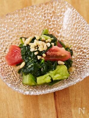 モロヘイヤと夏野菜のマリネ