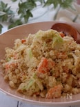キャベツとおからの春サラダ