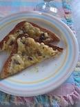 アンチョビーと《レモンコンフィ》のチーズトースト
