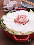 豚バラ大根とたっぷり白菜の中華風ミルフィーユ鍋♡