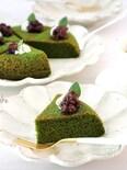 【型・オーブン不要】炊飯器で簡単!はちみつ抹茶ケーキ