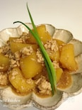 レンジ&麺つゆde簡単♡じゃがいものそぼろ煮