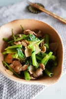 簡単めちゃうま♡空芯菜と豚肉のニンニク炒め♪