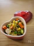 きゅうりとレンズ豆のスパイシーカレーマリネ