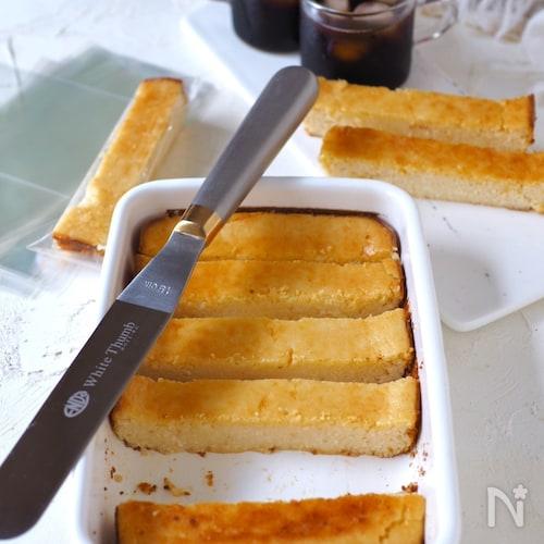 混ぜるだけ簡単!もみもみ豆腐のとろけるチーズケーキ【低糖質】