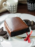 バレンタインに♡材料4つ!電子レンジで作るチョコレートケーキ