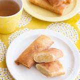 【簡単おやつ】焼き芋とりんごのスイートポテト風春巻きパイ