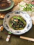 『簡単副菜♡』小松菜とツナの簡単塩こんぶ煮