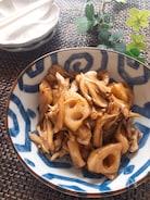 めっちゃ美味しいおつまみ♡蓮根と舞茸の柚子胡椒ポン酢炒め