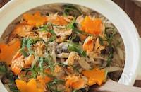 秋の味覚♪鮭ときのこの炊き込みご飯