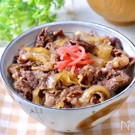 めちゃめちゃ美味しい♡『つゆだく牛丼』