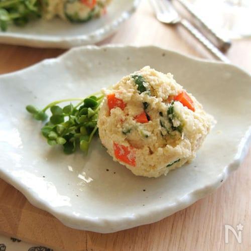 白だし卯の花ぽってり野菜サラダ