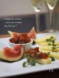 コンテに♪ドライフルーツ&味噌のディップ