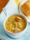 パンもごはんもおいしくなる♡『カレーミルクスープ』