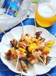 オーブンしっとり焼き鳥♪麺つゆで簡単ー☆