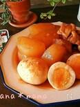 ピリ辛染み旨温まる~♪大根とゆで卵の韓国風煮込み♪