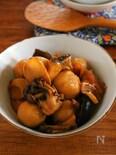 ジンジャーシロップで簡単煮物 鶏と色々きのこの甘辛煮。