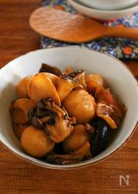 『ジンジャーシロップで簡単煮物 鶏と色々きのこの甘辛煮。』