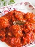 ふわふわ柔らか♪【豆腐入りミートボールのトマト煮込み】