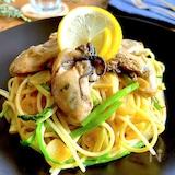 自分にご褒美パスタ♡旨味溢れる牡蠣のクリームスパゲティ