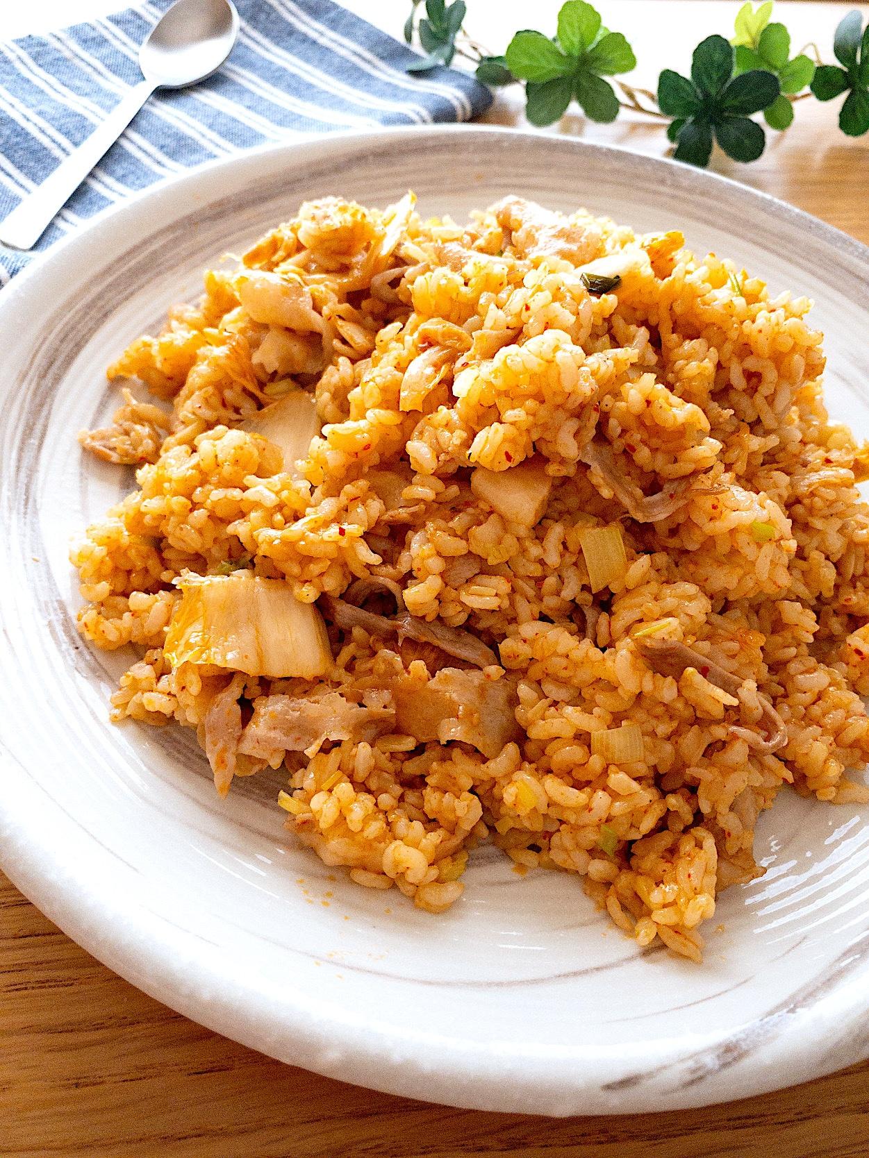 チャーハン レシピ キムチ