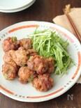アボカドの豚巻き味噌から揚げ