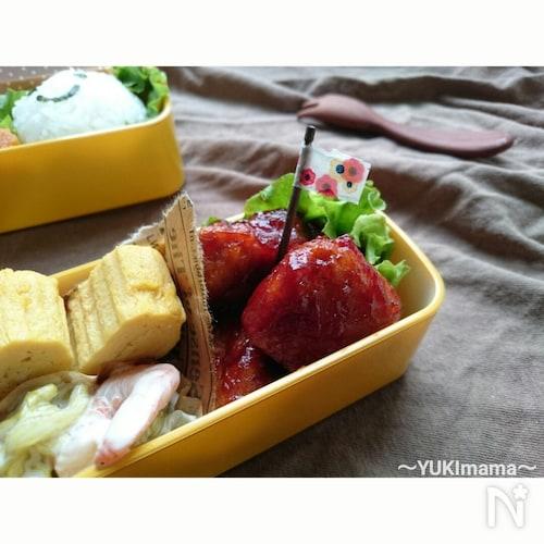 お弁当に〜めんつゆ鮪のケチャップソース(作りおき)〜