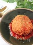 子どもが大好き♪丸ごとトマトで作るライスコロッケ