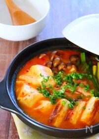 『コクうま!腸内環境を整える!甘酒キムチ鍋の作り方レシピ』