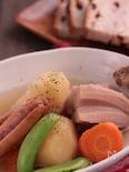 ソーセージと根菜ごろごろポトフ