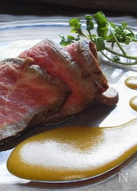 『魚介やお肉に~柿と白味噌の作り置きソース~ 』