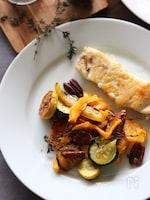 野菜のオーブン焼き(ハニーレモン)