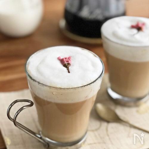 春かおる♪さくらミルクコーヒー