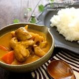 ごま味噌香る、根菜と鶏肉の和風カレー。