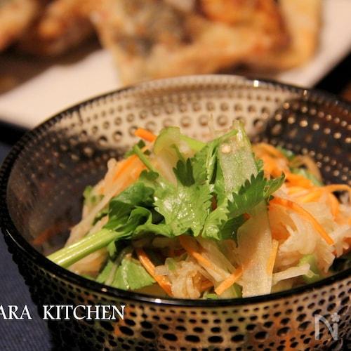 ソムタム風 大根とセロリのサラダ