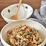 白だしで味がバッチリ決まる炒り豆腐【作り置き】