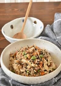 『白だしで味がバッチリ決まる炒り豆腐【作り置き】』