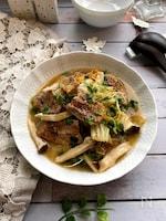 カリッとバラ肉ととろ~り白菜のスープ煮